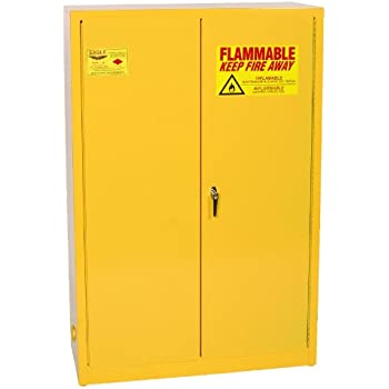 Amazon.com: Eagle 1932 Safety Cabinet for Flammable Liquids, 2 ...