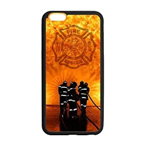 Onshop Fire Rescue Custom Case for iPhone6 Plus 5.5 (Laser Technology) by ruishername