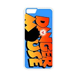Danger Mouse iPhone 6 4.7 Inch Cell Phone Case White E5898564