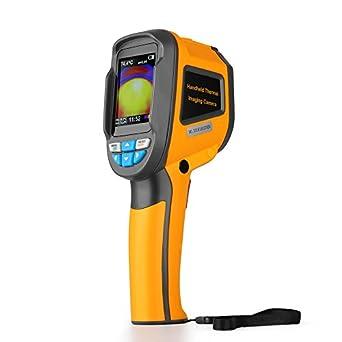 flexzion visual infrarrojos láser termómetro con imagen de almacenamiento - sin contacto termómetro digital por infrarrojos pistola de calor mano Sensor de ...