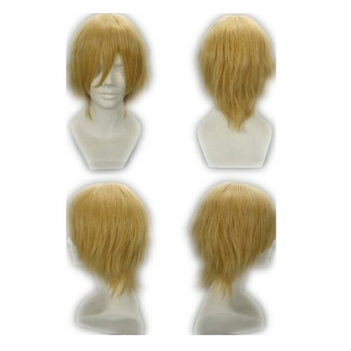 Cosplay Golden Blonde Short Synthetic product image