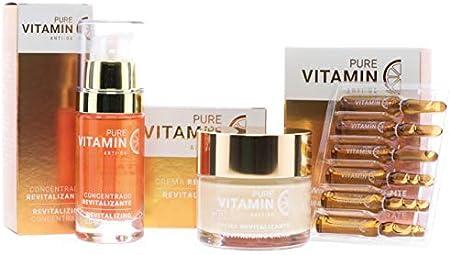 Noche y Día Noche y Día, Pack Regalo Crema y Serum Revitalizante con Vitamina C - Pure Vitamin Anti-ox, Pack