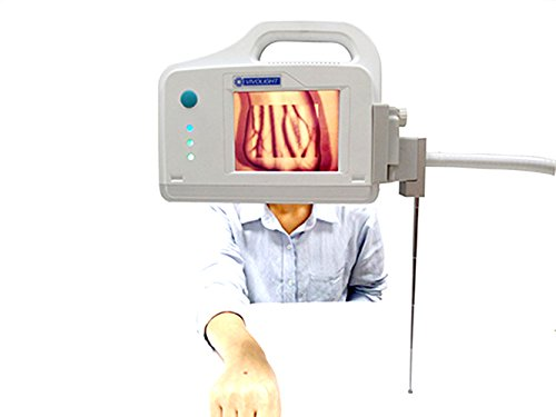 Infrared Projection Vein Finder, Bedside Screen Display Vein Viewer Locator Detector for Clinic, Transfusion, Aesthetic Center, Pediatrics,Nurses Doctor Use
