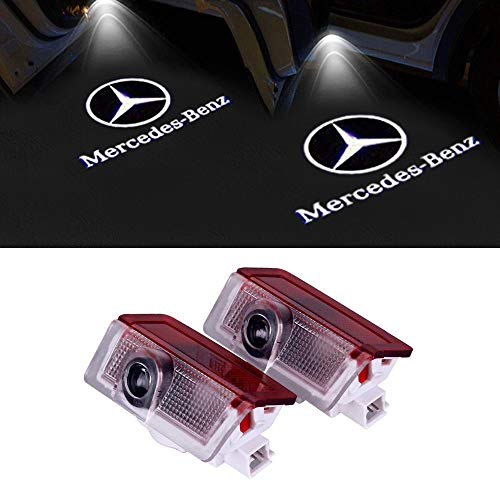 LIKECAR 2pcs Newest Car Styling LED Welcome Logo Door Shooting Light