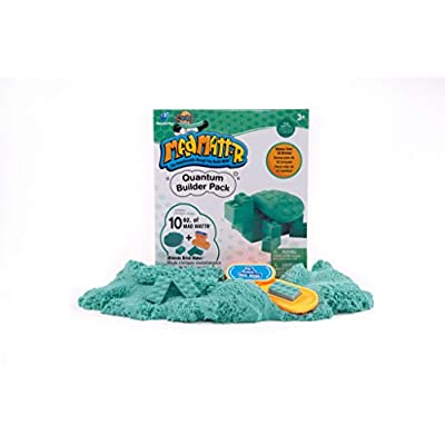MAD MATTR Quantum Builders Pack by Relevant Play- 10oz, with Ultimate Brick Maker (Teal): Toys & Games