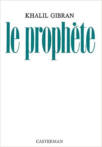 Amazonfr Le Prophète Khalil Gibran Livres