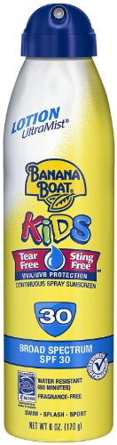 Banana Boat Kids UltraMist Sunscreen product image
