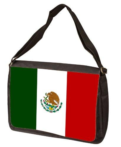 Mexico Flag Messenger Bag - Shoulder Bag - Laptop Bag