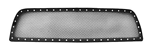- MaxMate Fits 07-09 Tayota Tundra Upper 1 PC Stainless Steel Black Powder Coated Mesh Grille Grill Insert