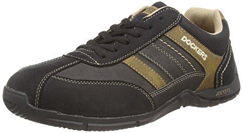 De Gerli Dockers Chaussures Noir stone Homme Sports Extérieurs 30hh026 142 schwarz By xIIqT5B