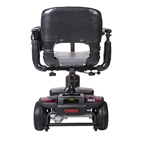 Drive Medical Spitfire Ex Travel 3-Wheel Mobility Scooter, 12 Ah Batteries