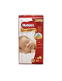 Huggies Little Snugglers Diapers, Newborn, 32 Count BOBEBE Online Baby Store From New York to Miami and Los Angeles