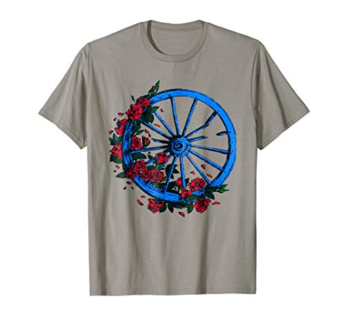 Grateful T Shirt Dead For Men Women Kids Wheel