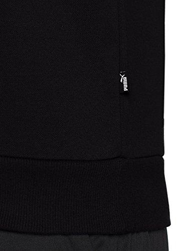 Black Sweat Crew Homme Puma Fl Shirts Logo Ess qO0RnTF