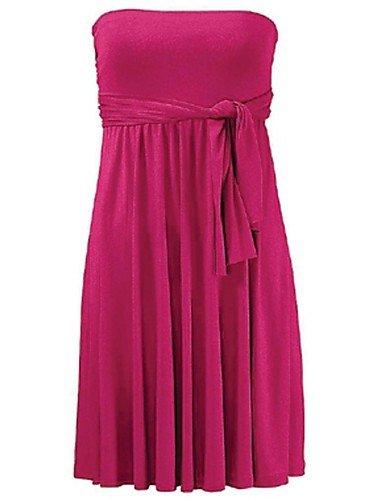 skt-swimwear Damen Bandeau-zudecken, massiv Wireless Polyester Weiß/Lila/Gelb/Orange/Rot/Schwarz