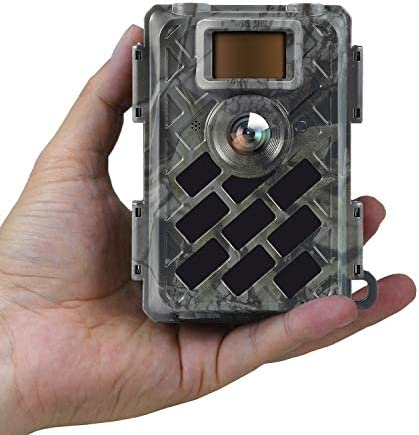 WingHome Trail Camera 630M, 16MP 1080P Game Camera with Leica M6 Solution Sony Sensor, 0.4s Trigger Time Outdoor Wildlife Camera Motion Activated Crystal Clear Night Vision