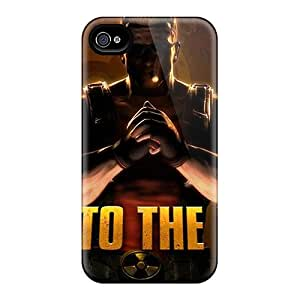 Slim Fit Tpu Protector Shock Absorbent Bumper Duke Nukem Case For Iphone 4/4s