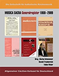 Musica sacra Generalregister 1868-2009
