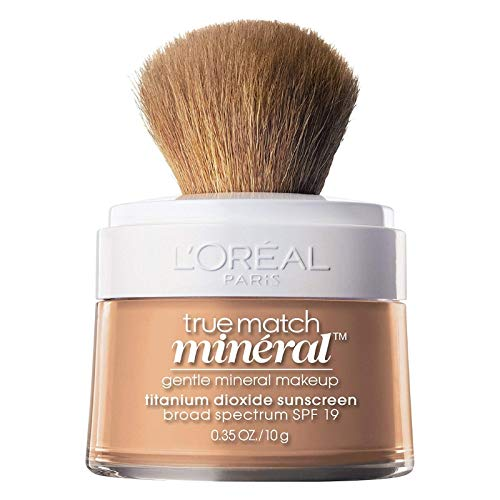 - L'Oreal True Match Mineral Foundation, Buff Beige [466] 0.35 oz (Pack of 2)