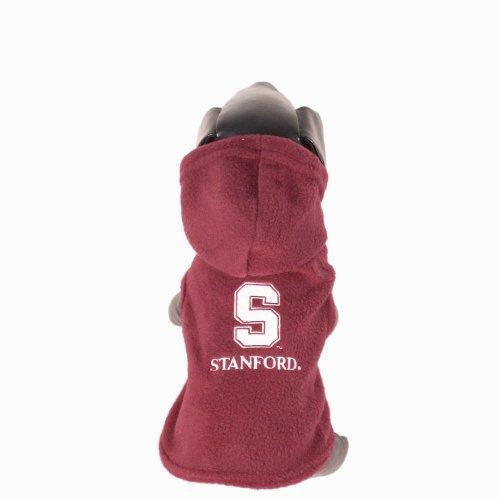 Cardinals Ncaa Hooded Fleece - NCAA Stanford Cardinal Polar Fleece Hooded Dog Jacket, XX-Large