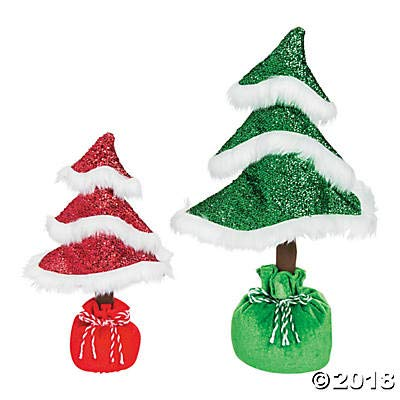 Fun Express Whimsical Christmas Curly Tabletop