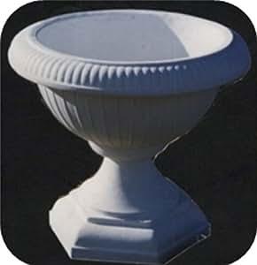 –Maceta/blanco sin sombras (B2), maceta de piedra, altura: 37cm, peso: 20kg