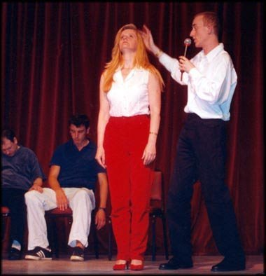Stage Hypnotism & Hypnosis Instant Induction Techniques Triple DVD Set (Induction Triple)