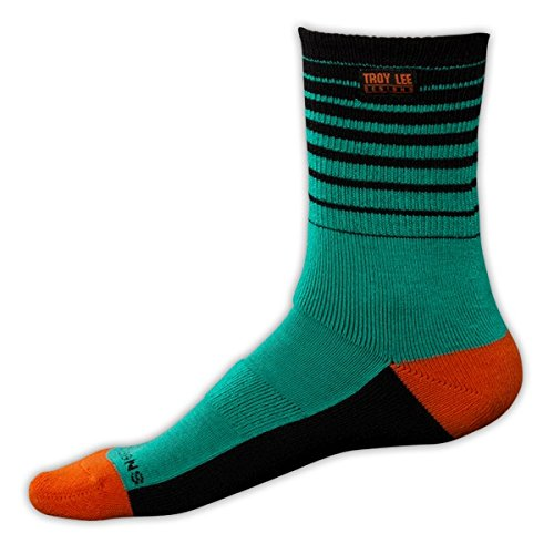 Troy Lee Designs Camber Socks Turquoise, 6.0-9.0 -