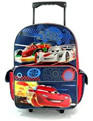 Disneys Cars Rolling BackPack - Disneys Cars Rolling School Bag Large