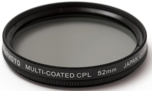 AGFA Digital Multi-Coated Circular Polarizing (CPL) Filter 52mm APCPF52
