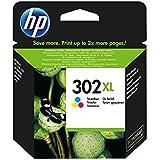 1x Original XL HP Tintenpatrone F6U67AE HP 302XL HP 302 XL für HP Deskjet 3630 - Color - Leistung: ca. 330 Seiten/5%
