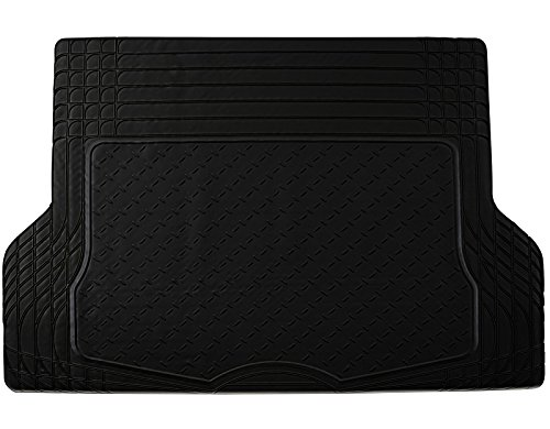 Johns FML-21 (Trunk Liner) Black All-Weather Rubber Floor Mats