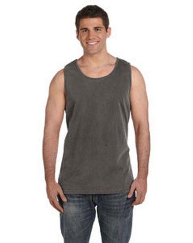 Ringspun T-shirt Sleeveless (Comfort Colors C9360 Ringspun Garment Dyed Tank. - PEPPER - M)