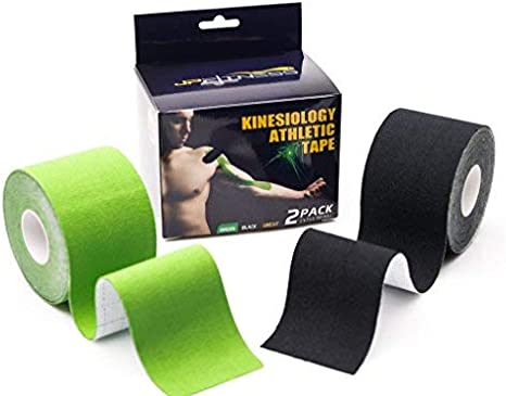 High Strength Hypoallergenic KT Tape for Sports 6 Rolls Kinesiology Tape