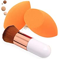 2+1Piece BAIMEI Makeup Sponges with Foundation Brush