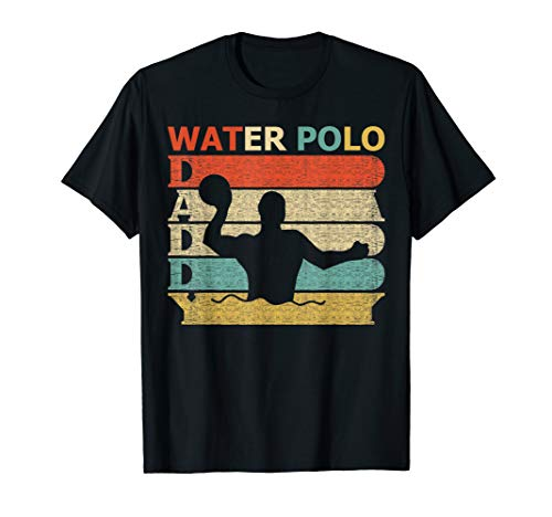 2621bdddd Retro Vintage Daddy Water Polo T-Shirt Dad Father's Day Gift ...