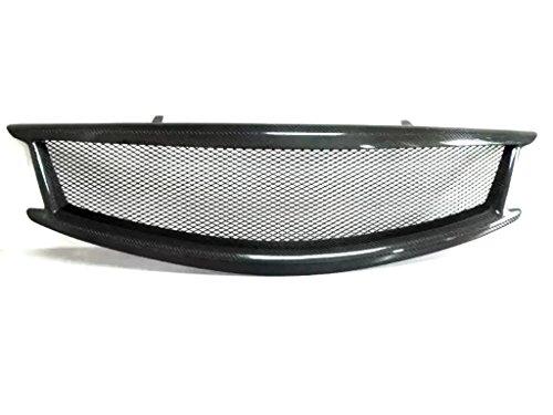 Eppar New Front Grille for Infiniti G Sedan G37 G36 2013 2014 (Carbon Fiber-A Net (No Logo))