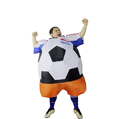 YOWESHOP Soccer Fan Costume Blow Up Costume Funny Theme Halloween Costume (Holland -