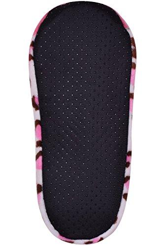 Zapatillas Antideslizantes Para Dormitorio De Mujer Zapatillas Para Interior De Animales Lindas Calientes Muñecos De Felpa Rosa