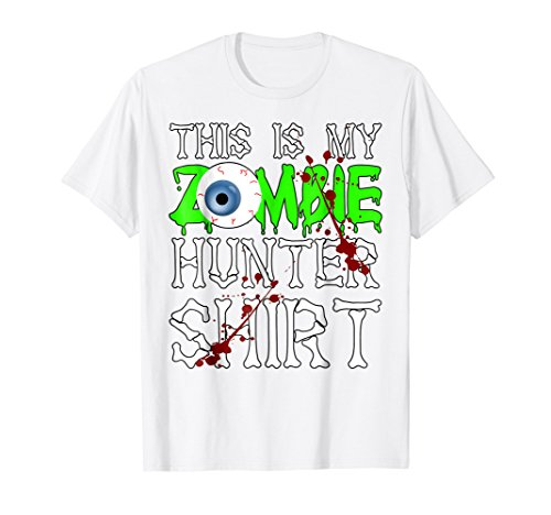 This is my Zombie Hunter T-Shirt - Funny Halloween -