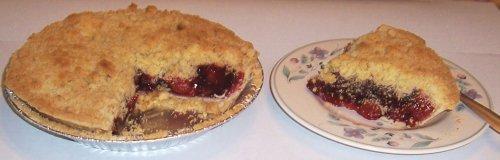 Scott's Cakes Cherry Crumb Pie