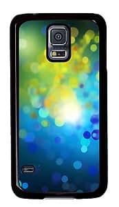 Samsung Galaxy S5 Case,Samsung Galaxy S5 Cases - Blue Drops Custom Polycarbonate Hard Case For Samsung Galaxy S5 - Black
