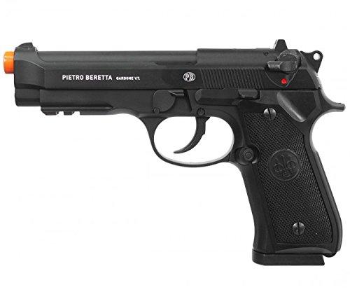 Elite Force Beretta M92 A1 Co2 Blowback Pistol,Auto/Semi,Black by Beretta