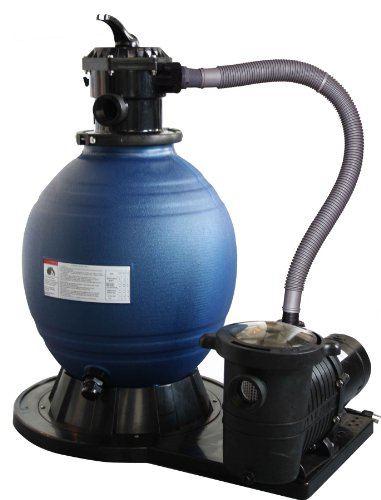 Blue Wave 18-Inch Sand Filter System with 1 HP Pump for Above Ground Pools by Blue Wave