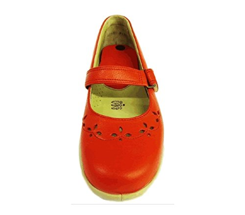 Red Women's Wide 'Kara' Size Milled UK Sandals 5 4E DB FHEOnwSSq