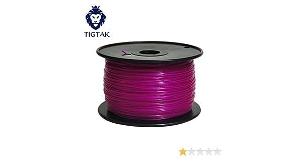 tigtak 3d impresora filamento PLA 1,75 mm para impresora 3d 1 kg ...