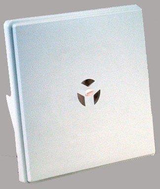 Builders Edge 130110008001 Surface Block for Dutch Lap 001, White (Dutch Lap Siding)