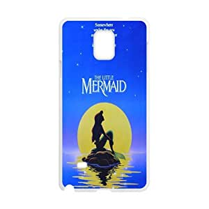 COBO The little mermaid Case Cover For samsung galaxy Note4 Case