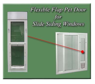 Ideal Flexible Side Sliding Window - Range 42'' - 44.5'' - Small (5 x 7'') by Ideal Pet Products