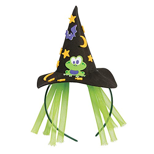 Fun Express Witch HAT Headband Craft KIT -